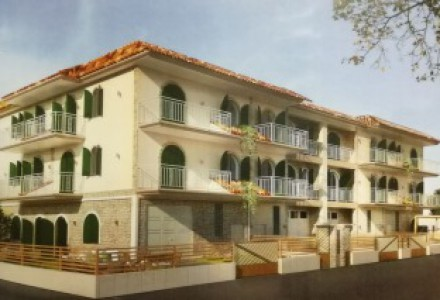 Newly built villas on three levels with terrace, garden and car garage... A few steps from Volla