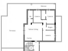Penthouse for sale, newly built apartment, level terrace, garage and parking space - 1